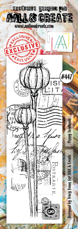 Aall&Create - #447 - Poppy Seedheads