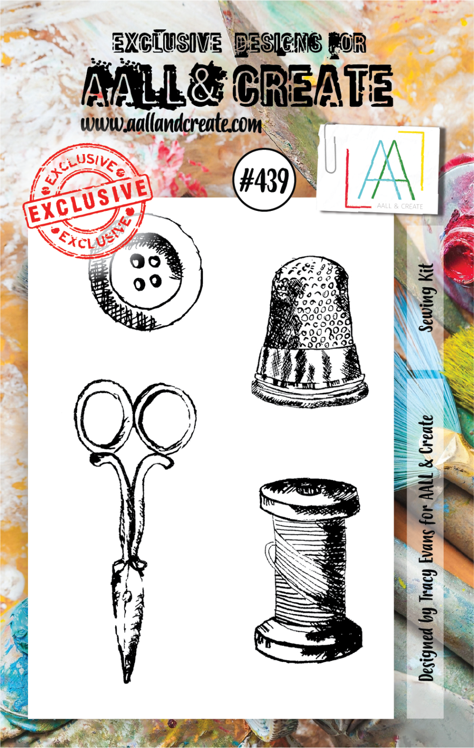 AAll&Create - Sewing kit - #439-  STAMP -