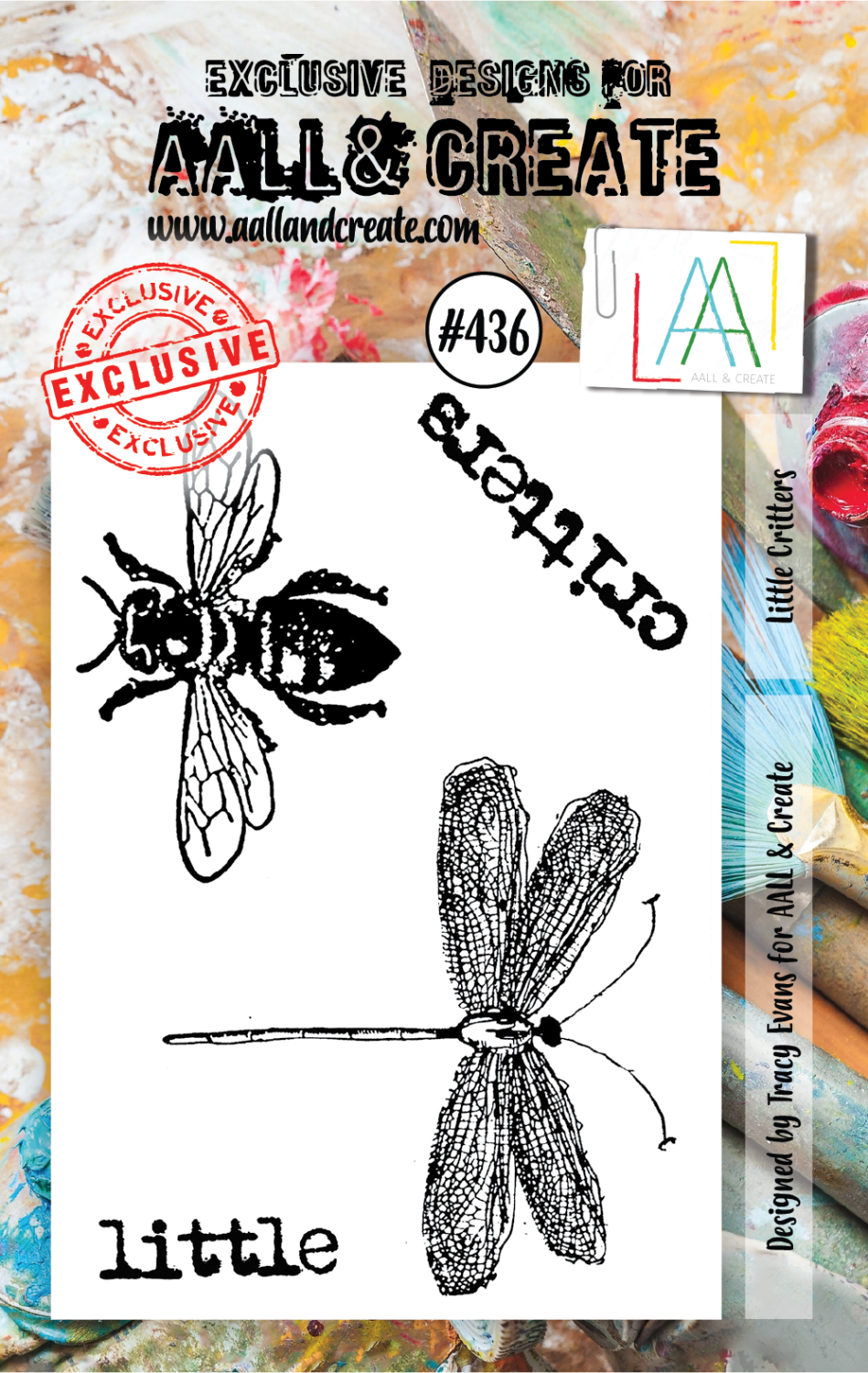 AAll&Create - Little Critters - #436-  STAMP -