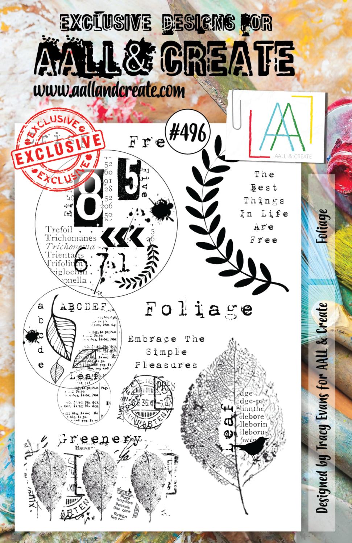 Aall&Create - A5 - #496 - Foliage