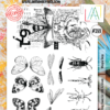 Aall&Create -Winged Bugs #388 - A4 STAMPS -