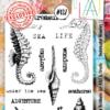AAll&create - A6 STAMPS - Underwater Wonders -137