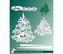 By Lene - Metal Dies - Christmas Trees