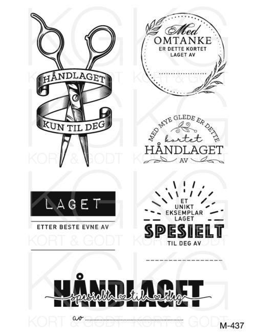 M-437-  Håndlaget - Kort og godt