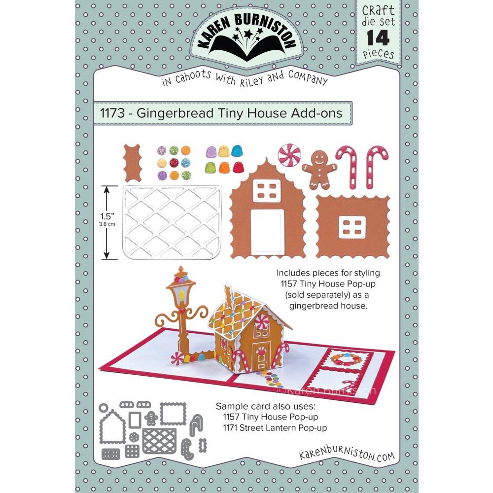 Karen Burniston Dies - Gingerbread Tiny House Add-Ons