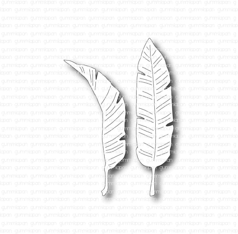Gummiapan - Bananblad- Dies