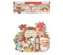 Stamperia- Classic Christmas  Die Cuts