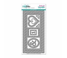 CarlijnDesign - Slimline nr 5 - Regnbue