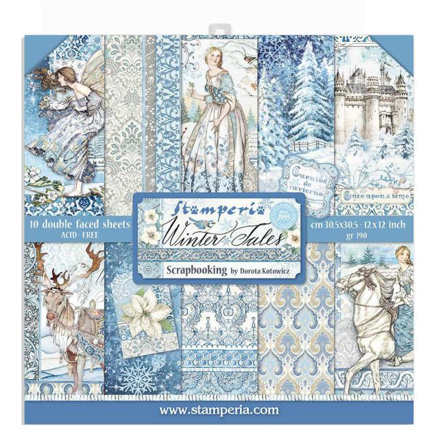 DOUBLE FACE -WINTER TALES - 10 sheets
