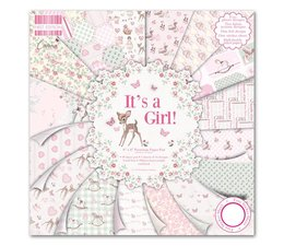 First Edition 8 x 8  Pad - It's a Girl