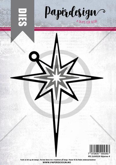 PAPIRDESIGN - Stjerne 4 _ Dies