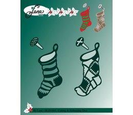 By Lene - Metal Dies - Christmas Socks