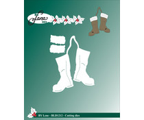 By Lene - Metal Dies - Christmas Boots