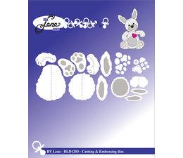 By Lene - Metal Dies - Rabbit