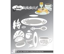 By Lene - Metal Dies - Breakfast Table