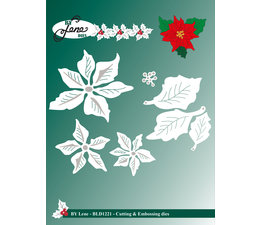 By Lene - Large Poinsettia  - Cutting & Embossing Dies