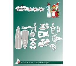 By Lene - Snowman & Santa Claus - Cutting & Embossing Dies