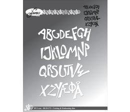 By Lene - Funky Alphabet - Cutting & Embossing Dies