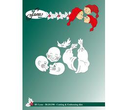By Lene - Elves-2 - Cutting & Embossing Dies