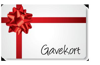 Gavekort 4000kr
