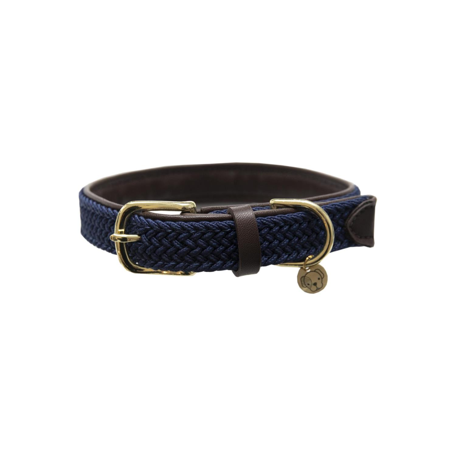 Kentucky Plaited Nylon Dog Collar