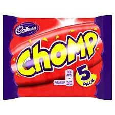 Cadbury Chomp 5-pack