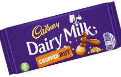 Dairy Milk Chopped Nut 95g