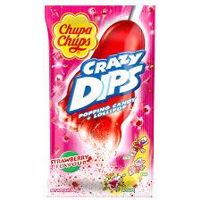 Chupa Chups Crazy Dips Strawberry