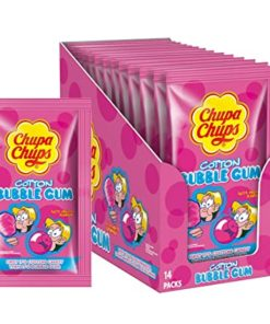 Chupa Chups Cotton Tutti Frutti Bubble Gum 11g