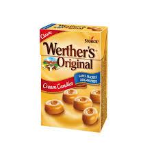 Werthers Orginal Cream Candies Sukkerfri 42gr Box