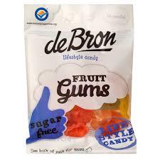 de Bron Fruit Gums 100g