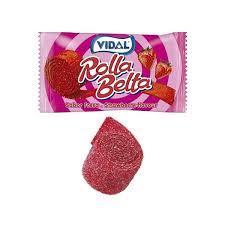 Vidal Rolla Belta Jordbær 19gr