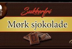 Sukkerfri Mørk Sjokolade 75gr