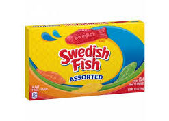 Swedish Fish Assorted 99gr