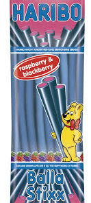 Haribo Balla Stixx Raspberry & Blackberry 200g