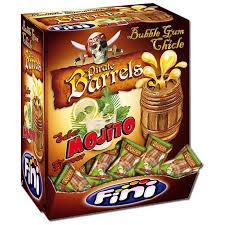 Fini Mojito Pirate Barrels Gum 5,5g