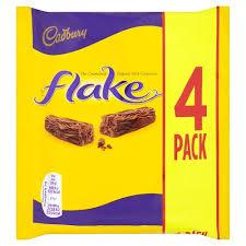 Cadbury Flake 4 Bars 80g