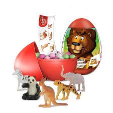 Bip Safari Wild And Wacky Surprise Egg 10g