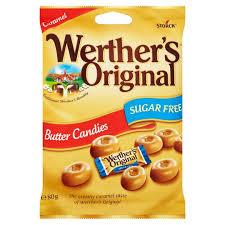 Werthers Original Butter Candies Sugar Free 80g