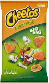 Cheetos Pizzerini 85g NB: Dato 18.04!