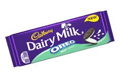 Cadbury Dairy Milk Oreo Mint Flavour 120gr