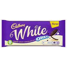 Cadbury Oreo White Chocolate 120gr
