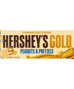 Hersey`s Gold Peanut Pretzle 39gr