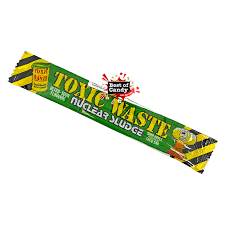 Toxic Waste Apple Chew Bar 20g