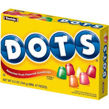 Dots Assorted Fruit Flavoured Gumdrops