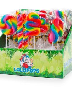 Felko Mini Lollipops Rainbow Assorted 17g