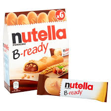 Nutella Ferrero B-Ready 6 Pakning 132g