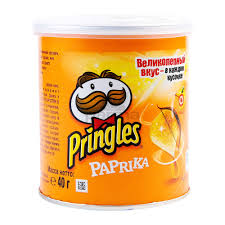 Pringles Sweet Paprika 40gr