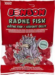 BonBon Rådne Fisk 125gr