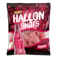 Grahns Hallon Shots Sura og Salta 80gr